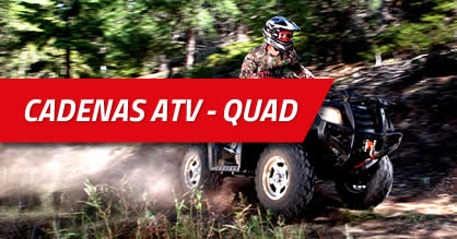 Cadenas atv-quad